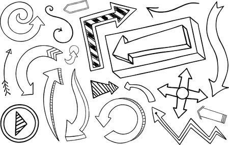 Doodle Arrow Collection