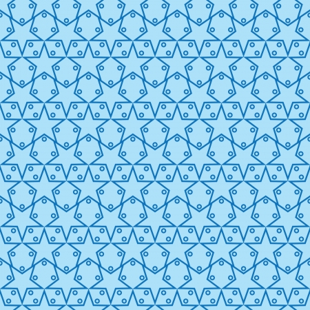 Seamless Star Pattern Two 向量圖像