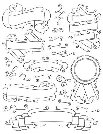 Vintage Hand Drawn Design Elements Nine