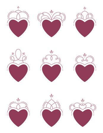 Swirl Hearts