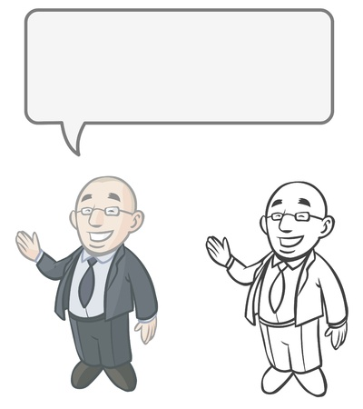 Cartoon Business character