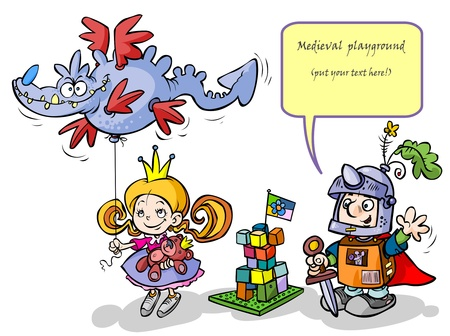 playroom: Little Princess and Knight