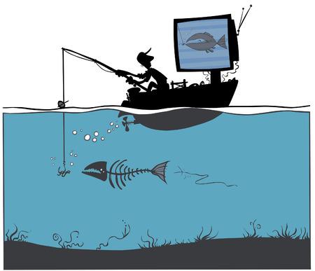 dreary: TV Fishing
