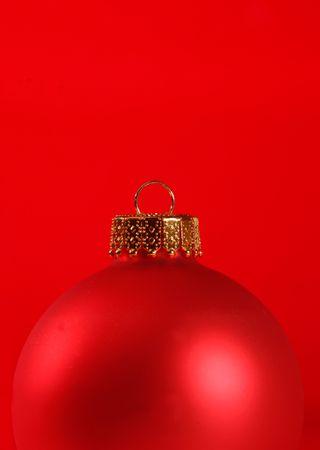 Makro z czerwonym ornamentem izolowanych przeciwko czerwonym tle Zdjęcie Seryjne
