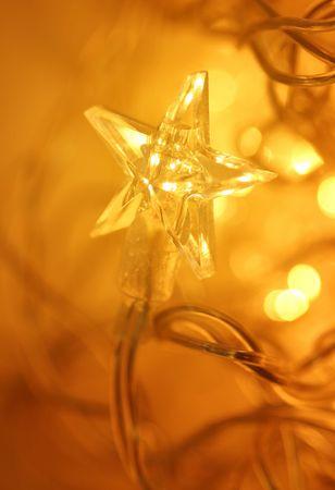 Starry christmas lights Stock Photo - 287875