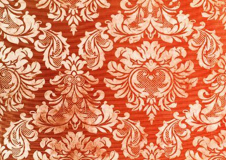 Floral Vintage tapety tła Zdjęcie Seryjne