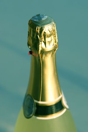 unofficial: Champagne - the unofficial drink of celebration Stock Photo
