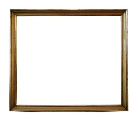 Large antique picture frame with clipping path - perfect for use with any background photo