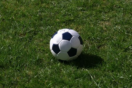 kickball: Soccerball or football - depends on where you live