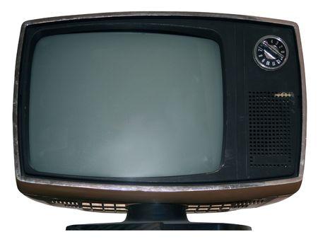Antique Telewizji wyizolowanych z wycinek ścieżki