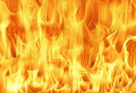 Fire and flames background Stock Photo - 294682