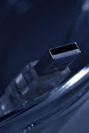 Macro of USB2 plug
