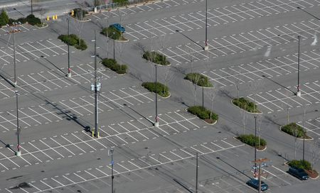 A sight we all would like to see more often... plenty of available parking space Stock Photo - 328666