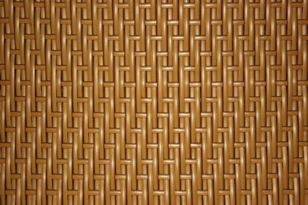 Overlapping pattern of a woven object photo