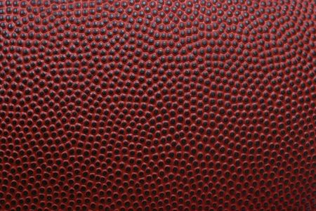 Detailed macro of american football