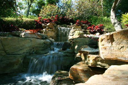 PiÄ™kne wodospad w raju tropikalna