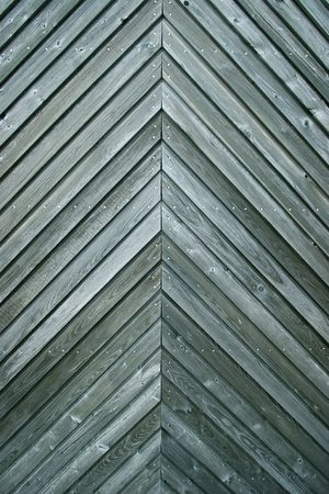 diagonal lines: Panel with weathered wood and diagonal lines