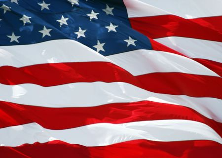 American flag background Stock Photo - 881694