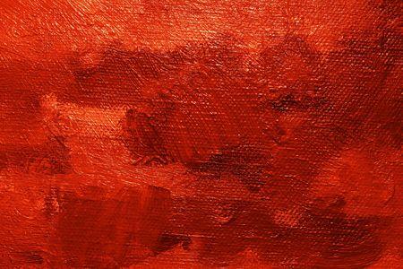 Close-up z ropy malowane płótna - tekstury i dobrze widocznych pociągnięć pędzla