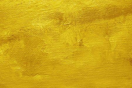 Close-up eines Öl gemalt Leinwand - Textur und Pinselstriche gut sichtbar