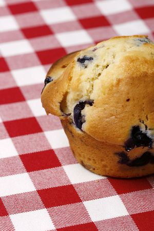 blueberry muffin: Delicious and freshly made blueberry muffin