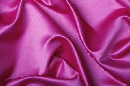 Schöne rosa Seide Hintergrund Standard-Bild