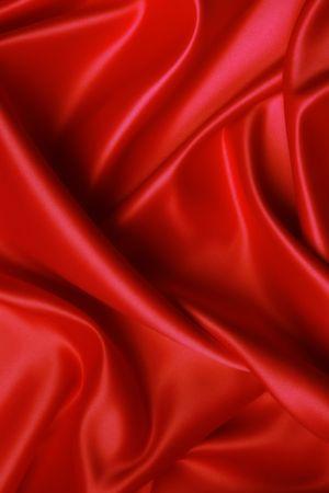 Elegant und weich rote Satin-Hintergrund