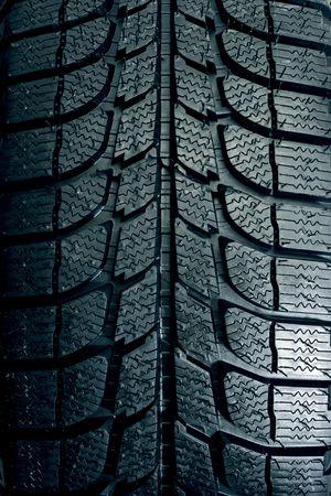 Brand new tire pattern Stock Photo