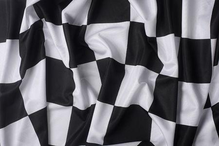 To jest prawdziwy Checkered bandery wysokiej jakości - tekstury Szczegóły w materiale