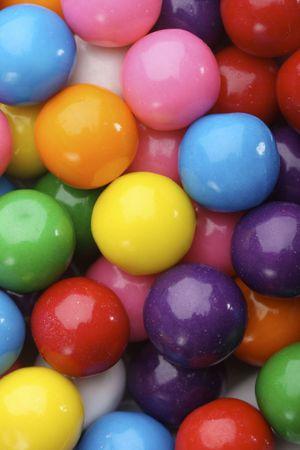 La goma de mascar de caramelos multicolores de fondo  Foto de archivo - 2454252