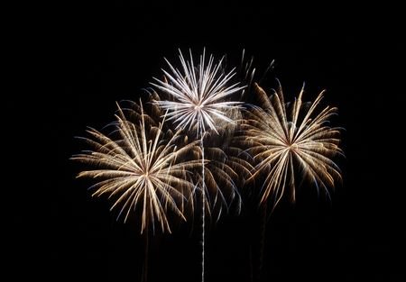 Amazing display of fireworks  Stock Photo - 2482844