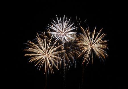 Amazing display of fireworks