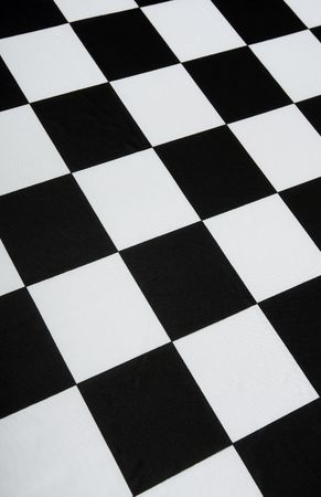 This is a real checkered flag background - texture details in the material Stock Photo - 2611000