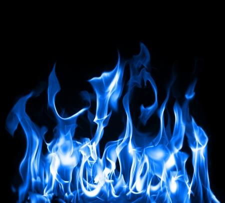 Beautiful stop-motion zdjęcie niebieskie płomienie Zdjęcie Seryjne
