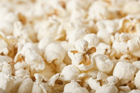 Close-up of fresh popcorn - selective focus Stock Photo - 8532171