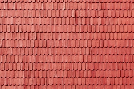 Old fashioned roof shingles background photo