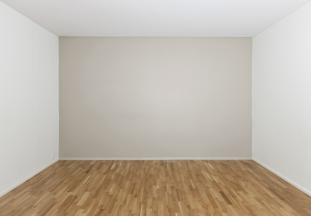 empty room: Empty room in a modern house