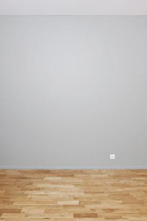 Blank wall interior to insert your own objects or artwork photo