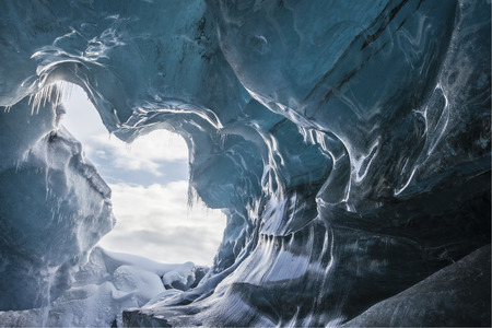 superficie: Impresionante paisaje de invierno