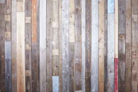 wood paneling: Background of reclaimed timber for a modern rustic look