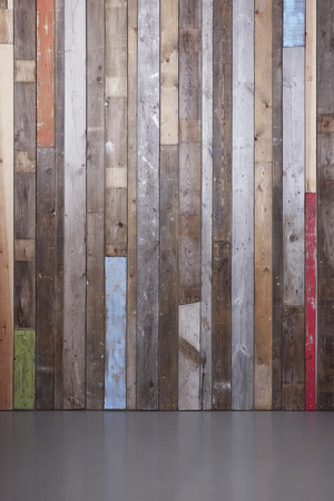 reclaimed: Background of reclaimed timber wall for a modern rustic look