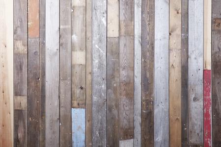 Achtergrond van teruggewonnen hout voor een moderne rustieke uitstraling