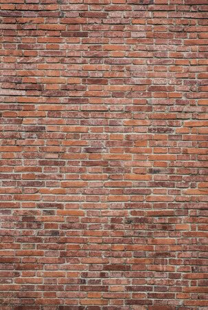 Brick wall with a lot of character