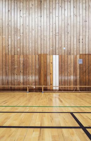 ballgame: Inside an old gymhall