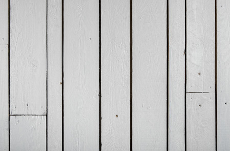 reclaimed: White wooden wall from reclaimed wood