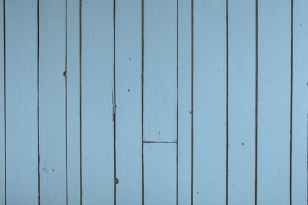 Reclaimed: Blue reclaimed timber wall backgound Stock Photo
