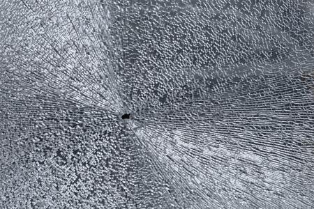 Broken glass window texture Фото со стока