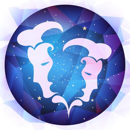 zodiac signs illustration Illustration