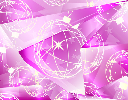 abstract Christmas background , vector illustration Vector