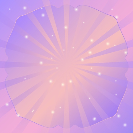 radial: Radial vector background retro